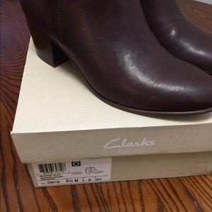 NWB Clark's boots